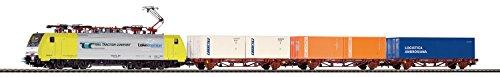 Piko 97916 Startset E-Lok BR 189 und DREI Güterwagen RTC, Schienenfahrzeug