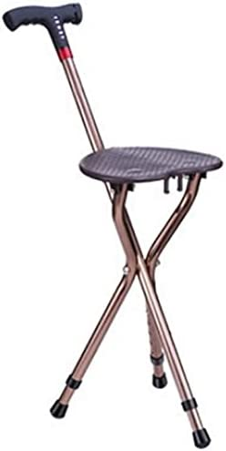 Crutches Excellent Adult Aluminum Alloy Cane Stool Crutch 3 Led Seat New products, world's highest quality popular! Legs