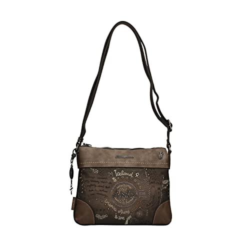 Anekke | Precioso bolso tipo bandolera con cremallera | Moderno, Casual y a la Moda | Para Mujeres | Ideal para el Día a Día u Ocasiones Especiales