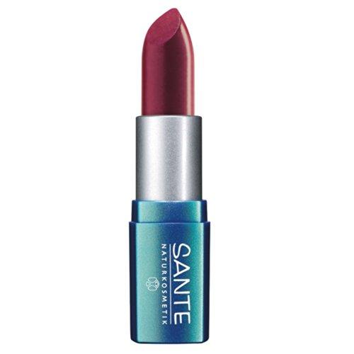 Sante Naturkosmetik Pure Colors Of Nature Lipstick Nr. 24 Raspberry Red Inhalt: 4,5g Lippenstift...