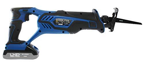 Hyundai hybs1090 reciprozaag, 18 V, zwart en blauw