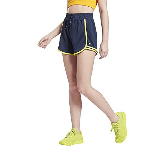 Reebok WOR Knit Short Pantalone Corto, Blu (Vecnav), XXL Donna