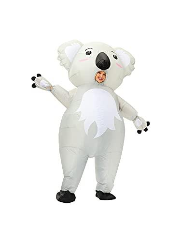 belupai Koala Doll Cosplay Disfraz de San Valentín Props Divertido disfraz de fiesta para adultos Durable Halloween Ropa inflable
