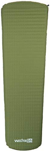 Wechsel Tentes Lito M 3.8 - Tapis d'assise extrêmement léger et Robuste - 183 x 51 x2,5 cm, Vert (2019)