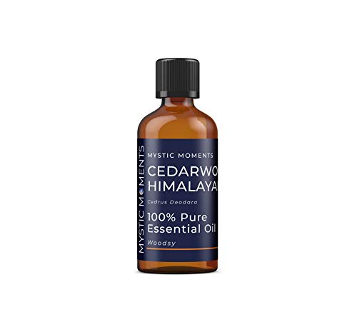 Mystic Moments | Cedarwood Himalayan Essential Oil - 100ml - 100% Pure