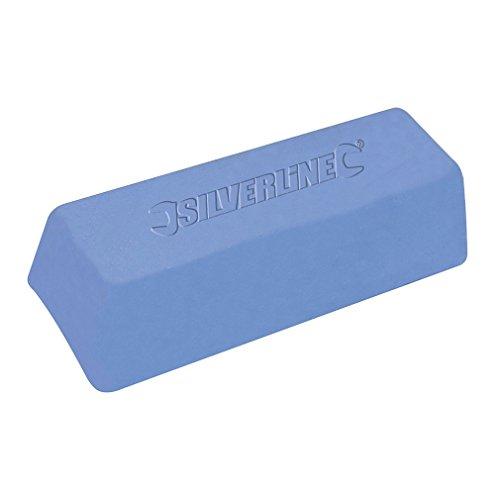 Silverline 107879 Polierpaste, blau 500 g