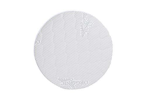 INGVART Colchón relleno de coco para INGVART SMART Bed 9 en 1 Cuna de crecimiento, redonda, 77 x 77 cm (Mini Redondo 72 x 72 cm, fibra de coco)