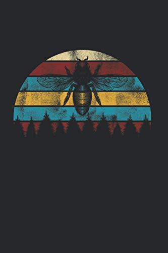 Notizbuch: Imker Retro Imker Imkerei Design Insektenliebhaber Notizbuch DIN A5 120 Seiten für Notizen Zeichnungen Formeln | Organizer Schreibheft Planer Tagebuch