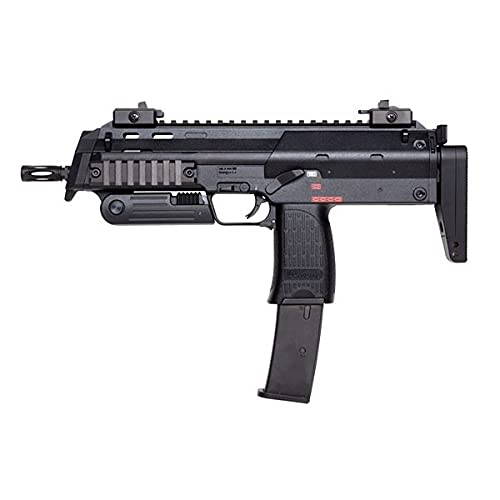 HECATE Airsoft Gun Well-R4-MP7A1 / Metal/Color Negro/eléctrico (0,5 Julios) / Semi-Full Automatic