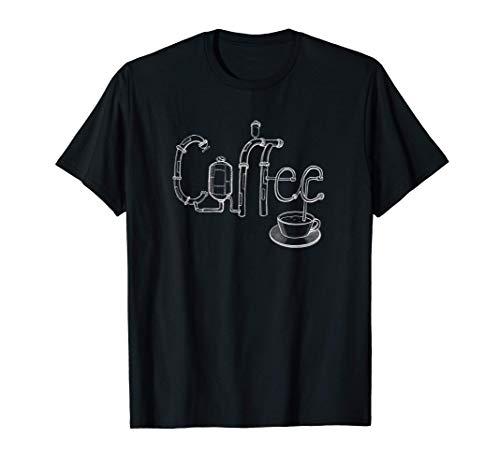 Steampunk Kaffee Maschine T-Shirt