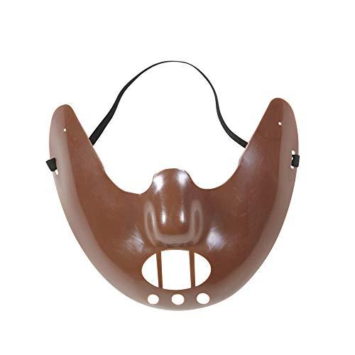 Widmann 01203 Menssen masker, bruin, eenheidsmaat