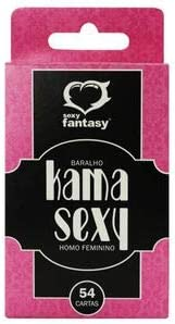 Baralho Kama Sexy Homo Feminino