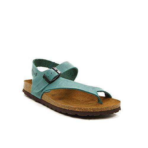 INTER-BIOS - Sandalia 7162-PMTE para: Mujer Color: Jeans Talla: 38
