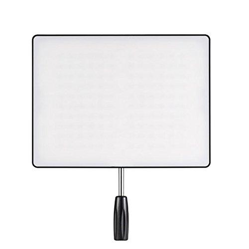 YONGNUO YN600 Air 単色 LEDビデオライト 薄型 定常光ライト 5500K LED192球 照明・撮影ライト 電池・ACア...