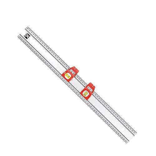 UANDM Multifunctionele liniaal schaal niveau liniaal aluminiumlegering liniaal hangend schilderwerk gereedschap vulstandindicator liniaal gereedschap schrijfwaren
