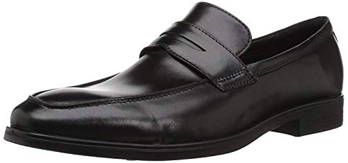 ECCO Men's Melbourne Loafers, Black (Black 1001), 8 UK
