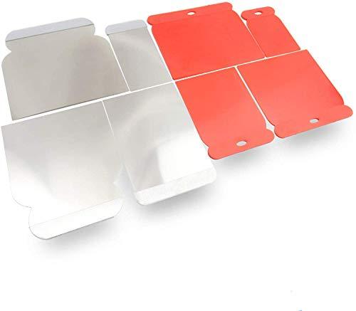 rokkelrokkel® Japanspachtel Set - flexible Blätter aus rostfreien Edelstahl sowie Kunststoff zum glätten und abziehen - 8er Set