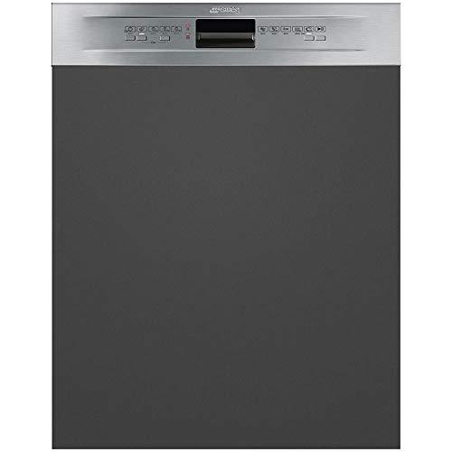 Smeg PL5222X Semi intégré 13places A++ lave-vaisselle - Lave-vaisselles (Semi intégré, Taille maximum (60 cm), Acier inoxydable, boutons, 30 cm, 13 places)