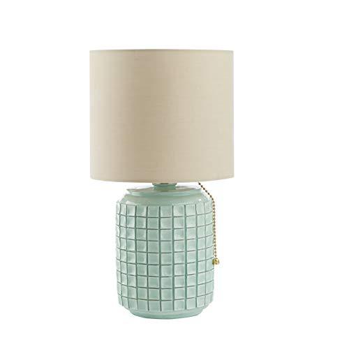 Urban Shop Ceramic Table Lamp, Mint