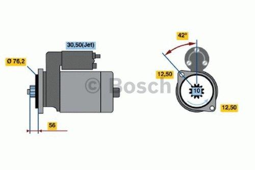 Preisvergleich Produktbild BOSCH 0986017460 Starter