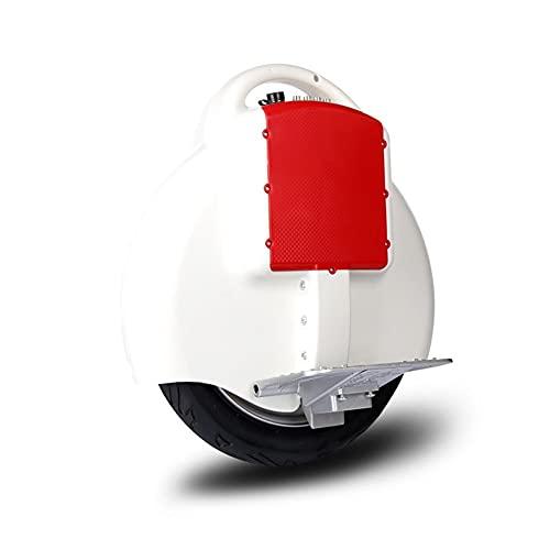 GUHUIHE Uniciclo eléctrico, una Rueda Auto Equilibrio Scooter eléctrico para Adultos, Rueda...
