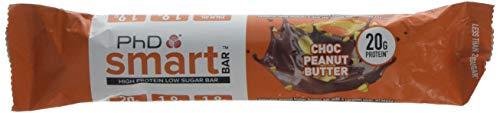 PhD Smart Bar Caramel Crunch Supplements, Choc Peanut Butter