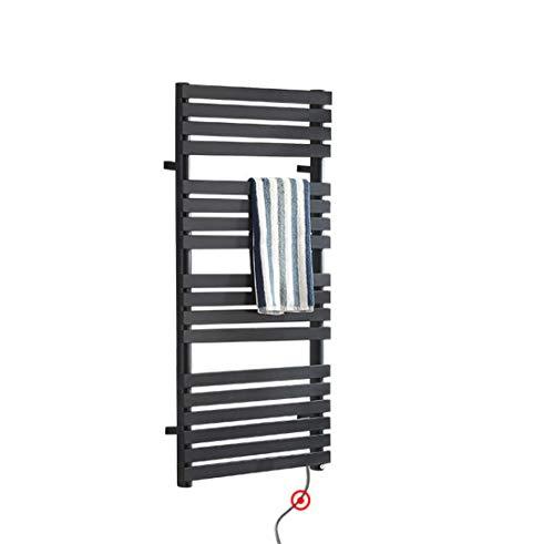 Lvbeis Radiador Toallero Calefactor Electrico Baño con Termostato Digital Programable Secatoallas Electrico,Right,120...