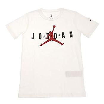 Nike Air Jordan Jumpman Big Boys 23 Jumpman T Shirt  Medium White/Black