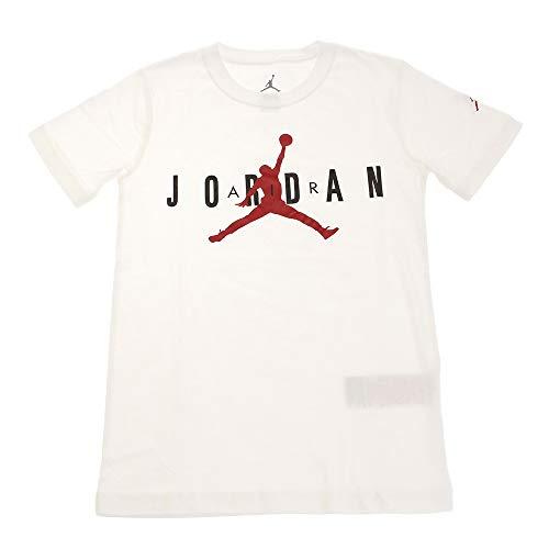 NIKE Brand tee 5 - Camiseta para niño, Niños, Camiseta, 955175, Blanco, 10-12Y
