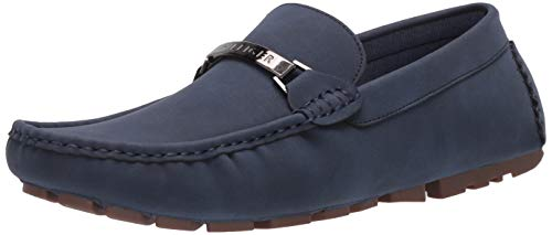 Tommy Hilfiger Men's Aaron3 Driving Style Loafer, Dark Blue, 9.5