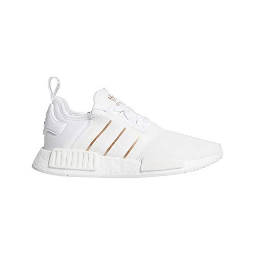 Zapatillas Adidas Originals NMD_R1 Boost para mujer, (Blanco nube/Blanco cristal), 42 EU