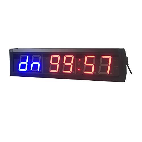 QinWenYan Timer Countdown Met Afstandsbediening Digitale Countdown Klok Countdown Minutes En Seconden Digitale Timer