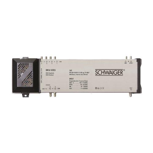 Schwaiger EKU825 211 DVB-S2 Mini Kopfstelle für SAT-Empfang