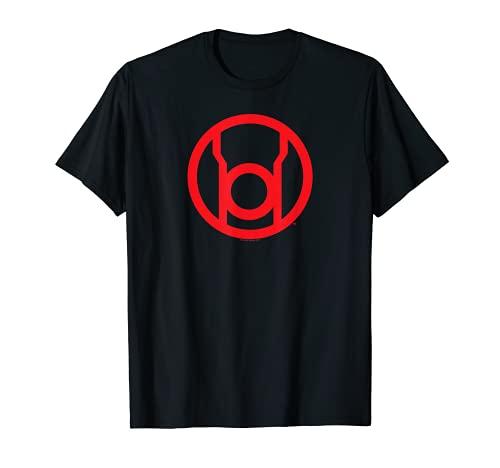 Green Lantern Red Emblem T Shirt