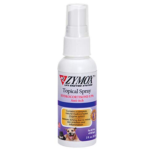 Zymox Topical Hot Spot Spray for Dogs and Cats...