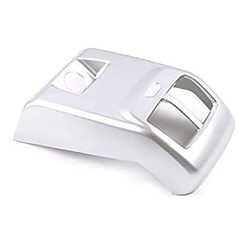 QINQIN Auto Posteriore Bracciolo Condizionatore D'aria Presa Telaio Anti- Calcio Copertura Trim Fit Per Ford Focus 2019 2020 Accessori Auto
