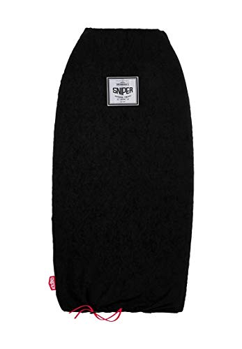 Sniper Sport-Tec - Funda para tabla de surf (115 cm), color negro