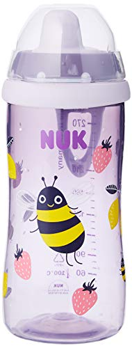 NUK 10255474 Kiddy Cup - Biberón infantil 300 ml