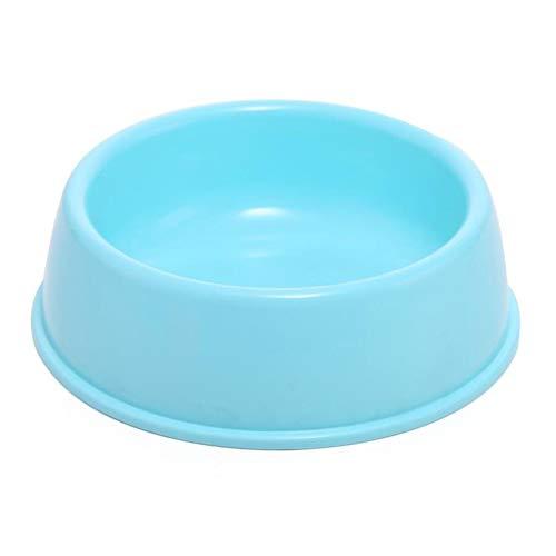 Huisdier, hond, schaal, puppy, katten, eten en drinken, dranken, watertoevoer-accessoires, anti-slip voernappen, pet supplies Medium blauw
