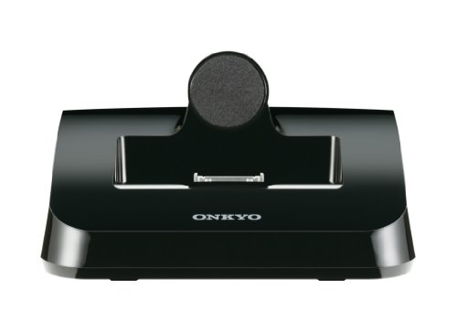 Onkyo DS-A4 dockingstation voor iPod/iPhone (video-uitgang, afstandsbediening) zwart