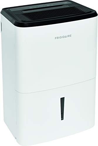 Frigidaire Energy Star 50-Pint Dehumidifier with Effortless Humidity Control, White