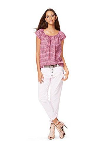 Burda B6684Schnittmuster Kleid und Bluse Papier weiß 19x 13x 1cm