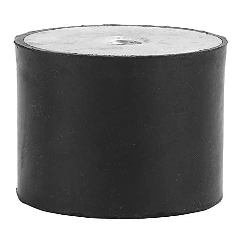 Amortiguador de vibraciones antichoque resistente al calor Amortiguación Aislador de goma duradero Soporte de goma para motores de gasolina para compresores(DE40*30 M8)