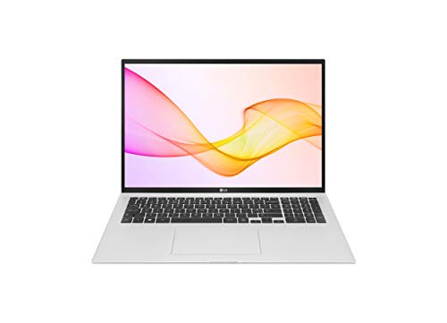 LG gram 17Z90P Silver, Ultra-Lightweight 1,350g, 17-inch laptop, Long lasting battery up to 19.5 hours, Intel Core i5-11th Gen, 8 GB, SSD 512 GB