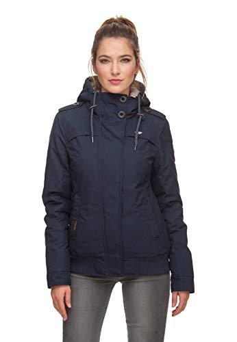 Ragwear Jacke Damen EWOK 1821-60005 Dunkelblau Navy 2028, Größe:S