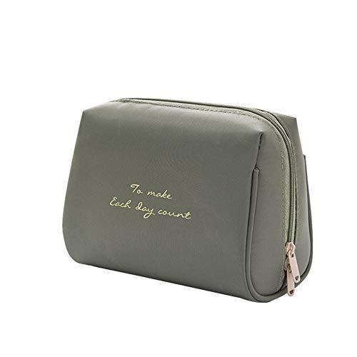 Petit sac de maquillage pour sac à main Maquillage Voyage Pouch Mini sac cosmétique simple sac de rangement en nylon imperméable