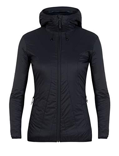 Icebreaker Hyperia Lite hybride jas met capuchon voor dames