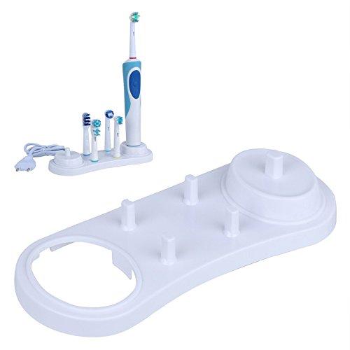 Bluelover Oral-B Wit Elektrische Tandenborstel Stander Ondersteuning Tandenborstel Opbergdoos Tanden Borstel Hoofden Caps