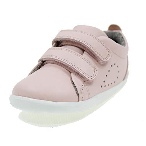 Bobux Unisex-Kinder Grass Court Sneaker, Pink Seashell Pink Seashell Pink, 19 EU