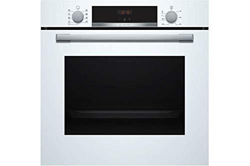 Bosch Elettrodomestici HBA534BW0 Horno empotrable, Cristal, Color blanco